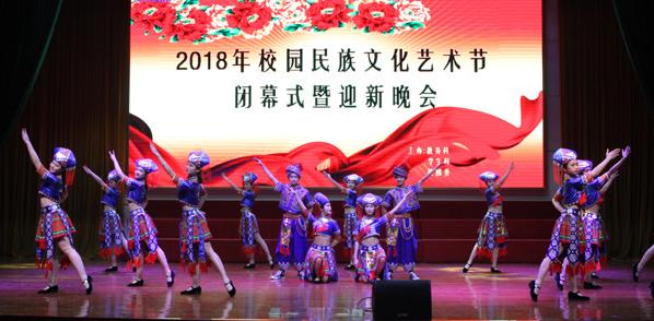 2018年校园文化艺术节圆满闭幕.
